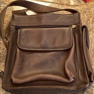 Genuine leather Fossil Tote